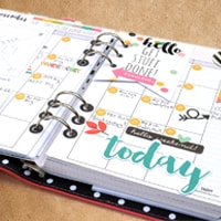 photograph about Planner Supplies named Planner Products Working day Planner Elements