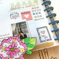 picture regarding Planner Supplies titled Planner Materials Working day Planner Products