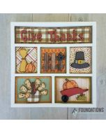 Thanksgiving Shadow Box Kit - Foundations Décor