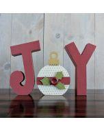 Joy w/ Ornament - Foundations Decor