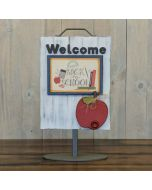 Apple - Welcome Sign - Foundations Décor