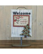 Tree - Welcome Sign - Foundations Décor