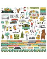 Happy Trails Combo Sticker - Simple Stories