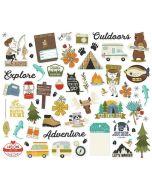 Happy Trails Bits & Pieces - Simple Stories