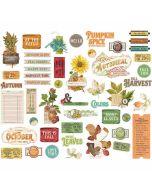 Autumn Splendor Bits & Pieces - Simple Stories