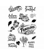 Autumn Splendor Stamps - Simple Stories