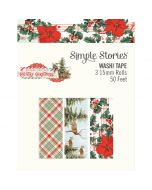 Country Christmas Washi Tape - Simple Stories