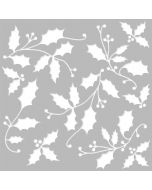 """Country Christmas 6"""" x 6"""" Stencil - Simple Stories"""