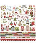 Holly Jolly Combo Stickers - Simple Stories
