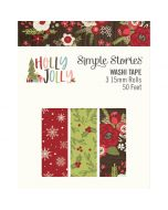 Holly Jolly Washi Tape - Simple Stories