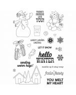 Winter Farmhouse Stamps - Simple Stories