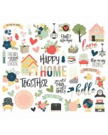 So Happy Together Bits & Pieces - Simple Stories