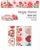 Simple Vintage My Valentine Washi Tape - Simple Stories