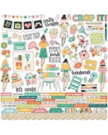 Hey, Crafty Girl Combo Stickers - Simple Stories