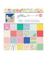 Pebbles 12 x 12 cardstock stack