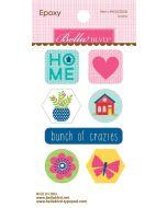 Home Sweet Home Epoxy Icons
