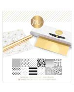 White Reactive Paper Pad