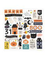 Hey, Pumpkin Chipboard Stickers - Maggie Holmes - Crate Paper