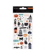 Hey, Pumpkin Puffy Stickers - Maggie Holmes - Crate Paper