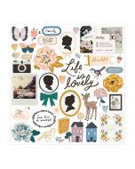 Heritage Chipboard Stickers - Maggie Holmes - Crate Paper