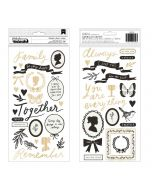 Heartfelt Phrase Thickers - Heritage - Maggie Holmes - Crate Paper