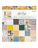"""Heritage 12"""" x 12"""" Cardstock Stack - Maggie Holmes - Crate Paper"""
