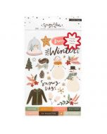 Snowflake Sticker Book - Crate Paper