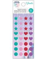 Sparkle City Enamel Dots