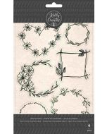 Kelly Creates Wreath Stamps