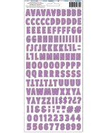 Sparkle City Alpha Stickers page 1