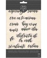 Kelly Creates Spanish Quotes 2 Stamps