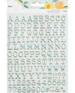 It's All Good Mini Alphabet Stickers