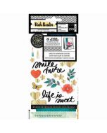 Wildflower & Honey Sticker Book - Vicki Boutin - American Crafts
