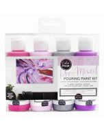 Mulberry Bliss Pouring Kit - Color Pour - American Crafts