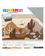 "Neutral Textured Precision Cardstock 12"" x 12"" - American Crafts"