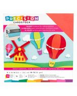 "Bright Textured Precision Cardstock 12"" x 12"" - American Crafts"