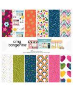 "Slice of Life 12"" x 12"" Paper Pad - Amy Tangerine - American Crafts"