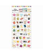 Mini Puffy Stickers - Slice of Life - Amy Tangerine - American Crafts