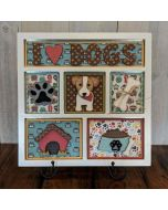 I Love Dogs Shadow Box Kit - Foundations Décor