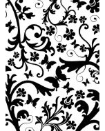 Cgull 12-0004 Embossing Folder Butterfly Floral