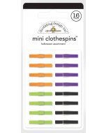Halloween Assortment Mini Clothespins - Candy Carnival - Doodlebug Design