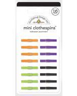 Halloween Assortment Mini Clothespins - Candy Carnival - Doodlebug Design