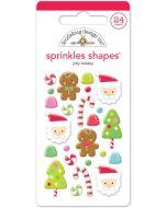 Jolly Holiday Shape Sprinkles - Christmas Magic - Doodlebug Design