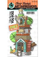 Art Impressions Hamster Wheel Cubbies