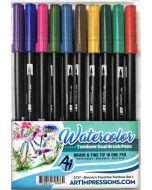 Art Impressions Bonnie's Favorite Pen Set 1