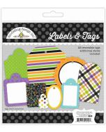 Boos & Brews Labels & Tags - Candy Carnival - Doodlebug Design
