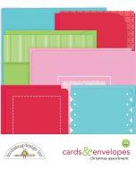 Christmas Assortment Cards & Envelopes - Christmas Magic - Doodlebug Design