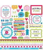 Doodlebug This & That So Much Pun Stickers