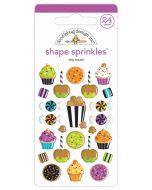Doodlebug tiny treats shape sprinkles