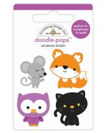 Forest Friends Doodle-Pops - Candy Carnival - Doodlebug Design